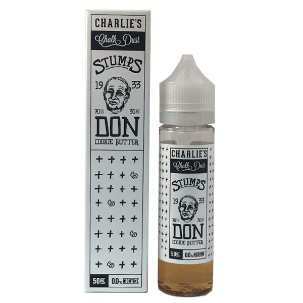 Charlie's Chalk Dust Stumps E Liquid – DON Cookie Butter