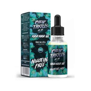 CHEAP THRILLS ON ICE – RUSH RUSH ICE E-LIQUID