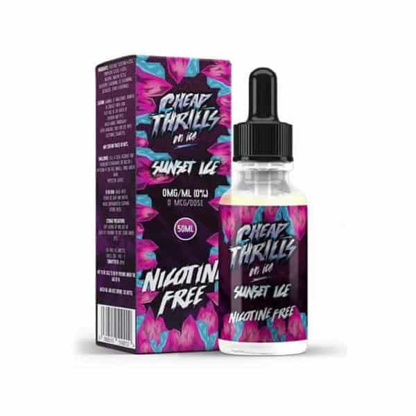 CHEAP THRILLS ON ICE – SUNSET ICE E-LIQUID