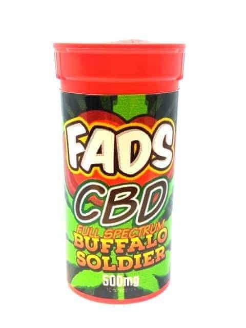 FADS CBD E LIQUID FULL SPECTRUM BUFFALO SOLDIER 500MG