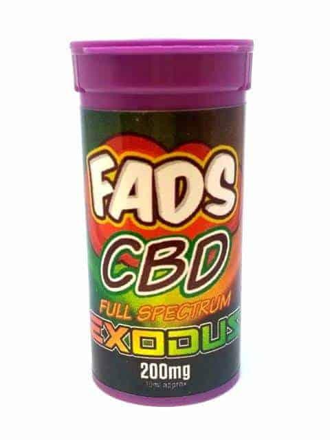FADS CBD E LIQUID FULL SPECTRUM EXODUS 200MG