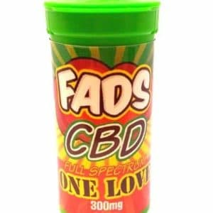FADS CBD E LIQUID FULL SPECTRUM ONE LOVE 300MG
