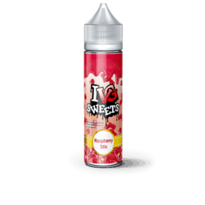 RASPBERRY STIX ELIQUID BY I VG SWEETS