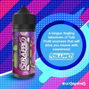 Tangy Tutti Frutti by Strapped E-Liquid