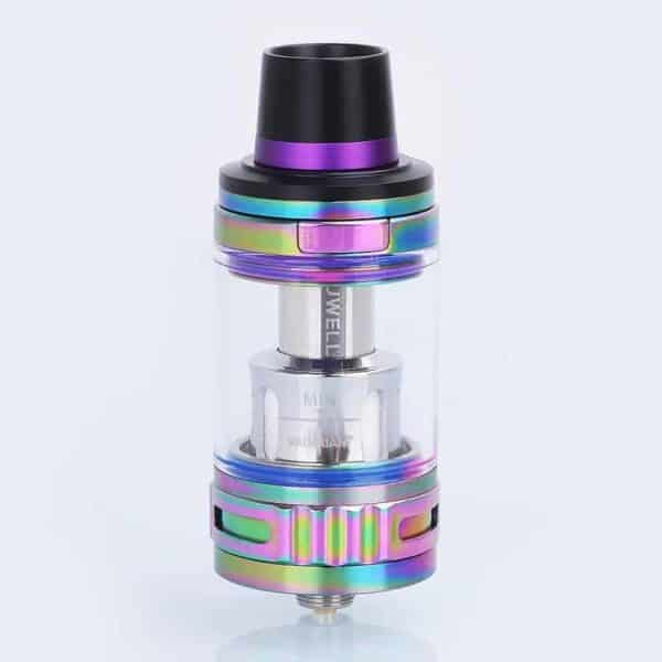 authentic-uwell-valyrian-sub-ohm-tank-atomizer-iridescent-stainless-steel-5ml-25mm-diameter