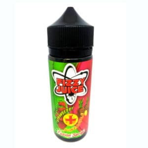 MOHAWK & CO FIZZY JUICE STRAWBERRY AND PINEAPPLE 100ML - FUSION SERIES