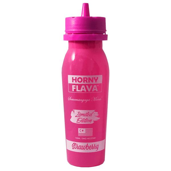 Horny Flava - Horny Strawberry 100ml Limited Edition