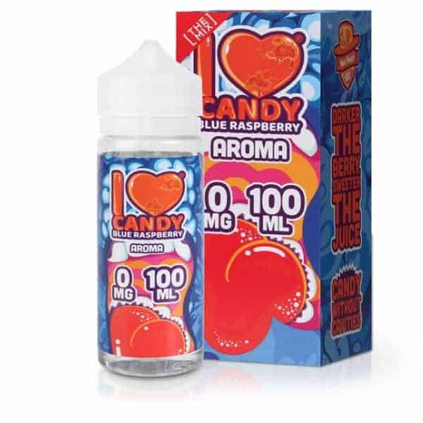 I Love Candy Blue Raspberry E-Liquid by Mad Hatter 100ml