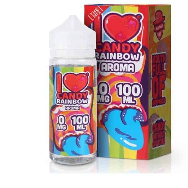 I Love Candy Rainbow E-Liquid by Mad Hatter 100ml