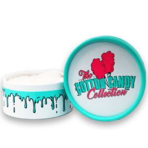 The Cotton Candy Collection – 0.30oz Tub of Organic Cotton