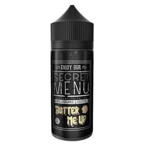 Butter Me Up Secret Menu by Milkshake Liquids