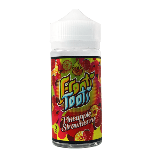 Pineapple Strawberry E Liquid by Frooti Tooti 200ml