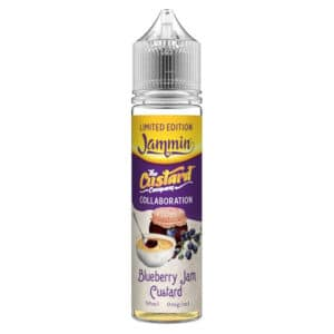 Jammin Vape Co x The Custard Company - Blueberry Jam Custard