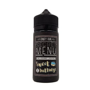 Sweet Nothings Secret Menu by Milkshake Liquids