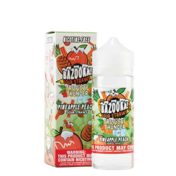 Tropical Thunder by Bazooka - Pineapple Peach Ice 100ml