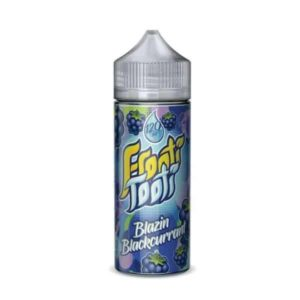 Blazin Blackcurrant E Liquid by Frooti Tooti 60ml
