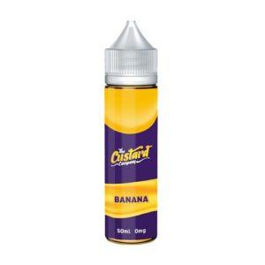 Banana Custard E-Liquid by The Custard Company