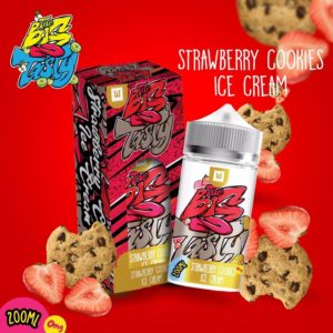 BIG N TASTY - STRAWBERRY COOKIES ICE CREAM