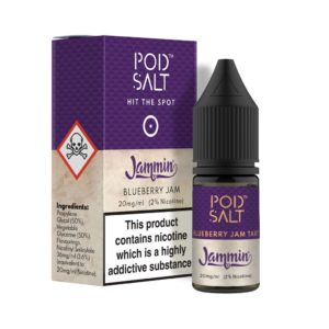 Pod Salt - Blueberry Jam Tart Nicotine Salt E-Liquid
