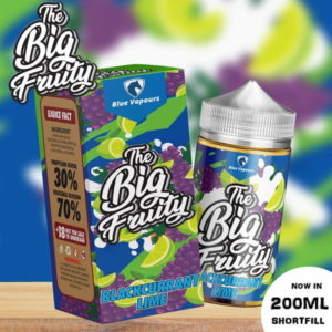 THE BIG FRUITY - BLACKCURRANT LIME