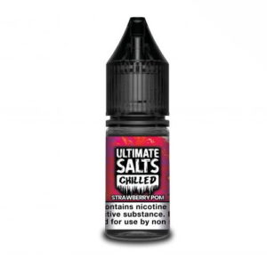 Ultimate Salts Chilled 10ml Strawberry Pom