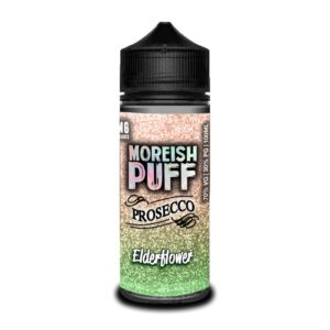 ELDERFLOWER PROSECCO BY MOREISH PUFF